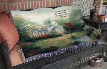Hometown Chapel Throw Blanket