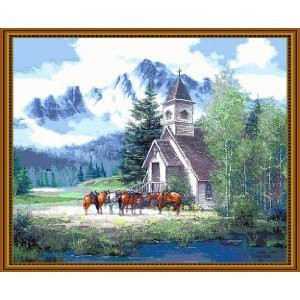 Friends in High Places Throw Blanket by Millstreet (48x60 Inches)