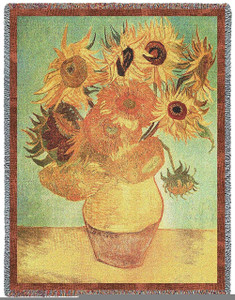 Van Gogh Sunflowers by Pure Country Weavers (54x70 Inches)