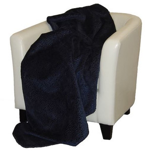 Embossed Lapis #546 Throw Blanket by Denali (50x60 Inches)