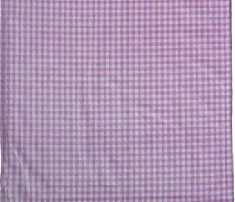 Gingham Light Lilac/Light Lilac #121 Baby Blanket by Denali (30x36 Inches)
