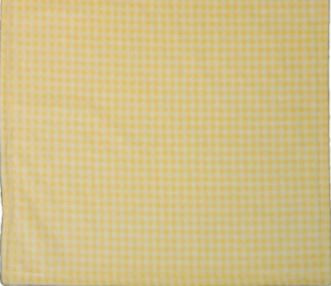 Gingham Light Yellow/Light Yellow #125 Baby Blanket by Denali (30x36 Inches)
