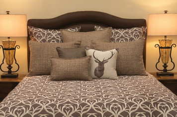 Wooded River Blitz Antler Duvet Cover
