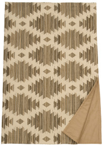 Wooded River Caravan Southwest Geometric Throw Blanket