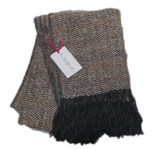 Mystic Ivory Throw