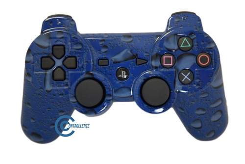 Blue Waterdrop PS3 Controller | Ps3