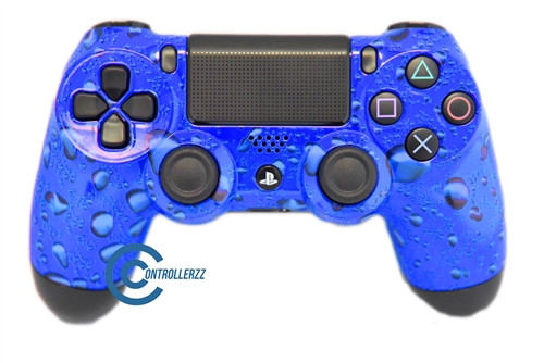 Blue Water Drop PS4 Controller | Ps4