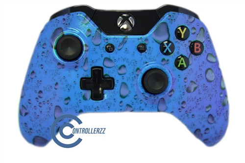 Blue Waterdrop Xbox One Controller | Xbox One