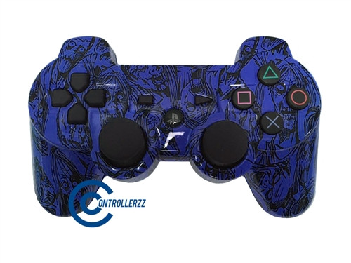 Blue Zombie PS3 Controller | Ps3