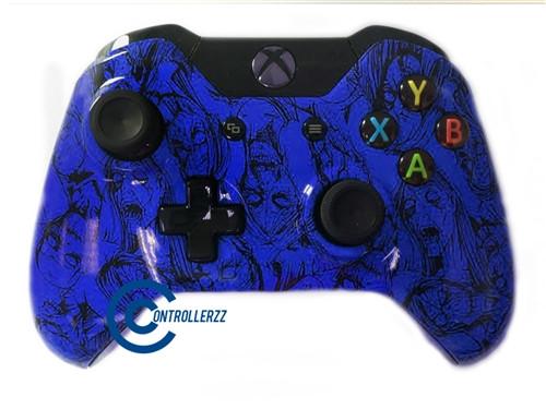 Blue Zombie Xbox One Controller | Xbox One
