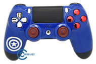 Captain America Themed PS4 Controller | Ps4