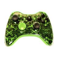 Green Circuit Board Controller | Xbox 360