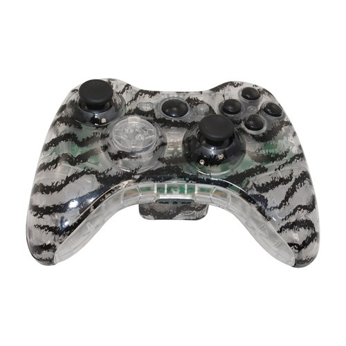 Clear Tiger Controller | Xbox 360