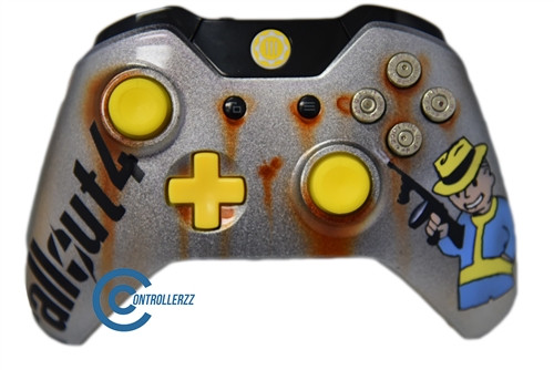 fallout 4 limited edition xbox one controller. Black Bedroom Furniture Sets. Home Design Ideas