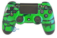 Green Barbed Wire PS4 Controller | Ps4