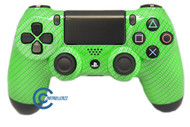 Green  Carbon Fiber PS4 Controller | Ps4
