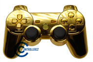 Gold PS3 Controller | Ps3