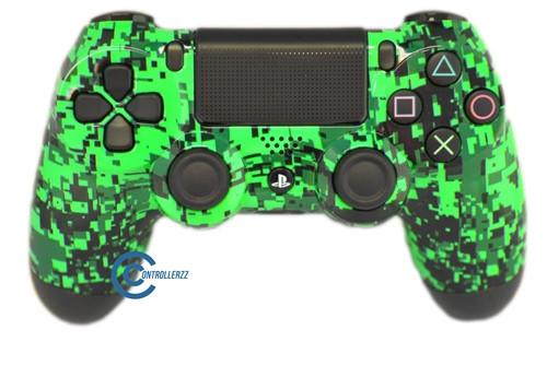 Green Digital PS4 Controller | Ps4