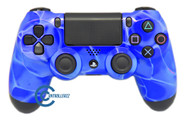 Blue Swirl PS4 Controller | Ps4