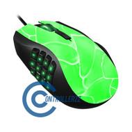 Green Swirl Razer Naga | Razer Naga