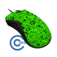 Green Water Dropped Razer DeathAdder | Razer DeathAdder
