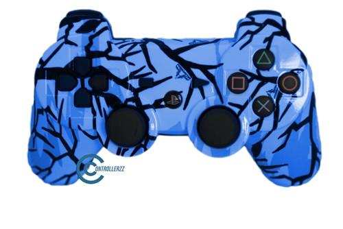 Blue Predator PS3 Controller | Ps3