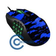 Blue Splatter Razer Naga  | Razer Naga