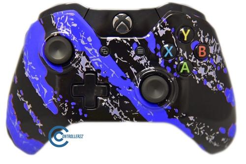 Blue Splatter Xbox One Controller (BSXB1) | Xbox One