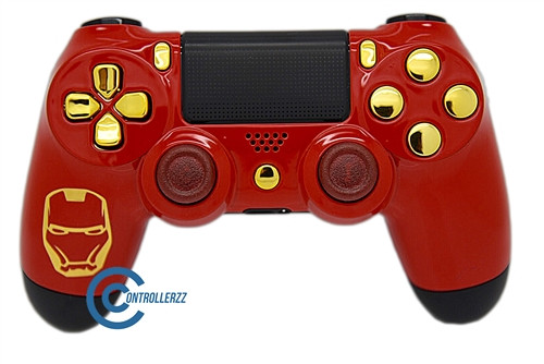 Ironman Themed PS4 Controller | Ps4