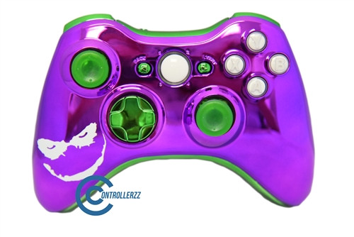 Joker Themed Xbox 360 Controller | Xbox 360