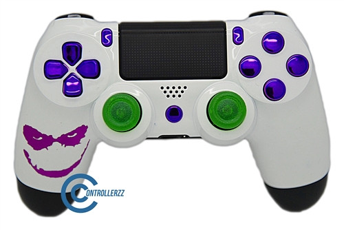 Joker Themed PS4 Controller | Ps4