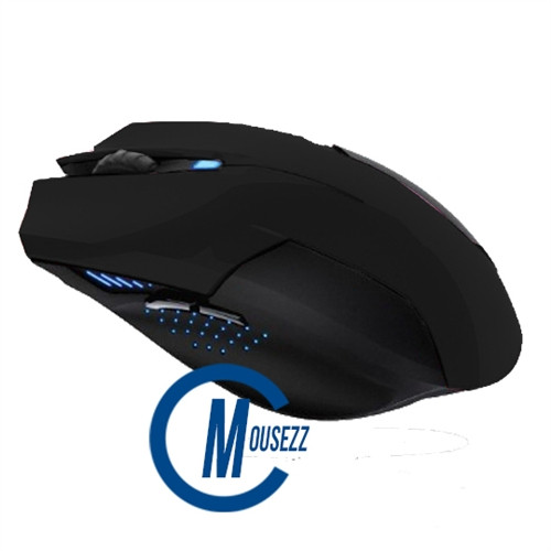 Black Wired Matte Mouse | Horizon