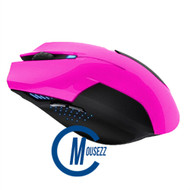 Pink Wired Matte Mouse | Horizon