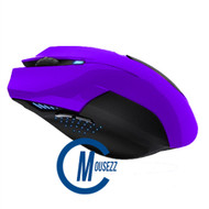 Purple Wired Matte Mouse | Horizon
