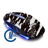 White Wireless Splatter Mouse | Horizon