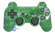 Green Swirl PS3 Controller | Ps3