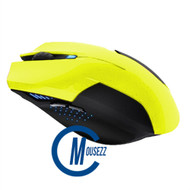 Yellow Wired Matte Mouse | Horizon