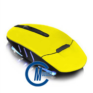 Yellow Wireless Matte Mouse | Horizon