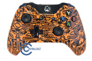 Orange Circuit Board Xbox One Controller | Xbox One