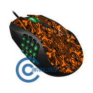 Orange Circuit Razer Naga   Razer Naga