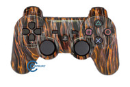 Orange Flame PS3 Controller | Ps3