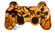 Orange Predator PS3 Controller | Ps3