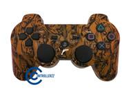 Orange Zombie PS3 Controller | Ps3