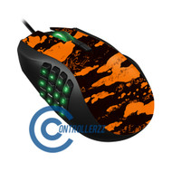 Orange Splatter Razer Naga | Razer Naga
