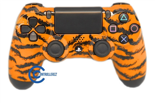 Orange Tiger PS4 Controller | Ps4