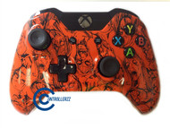 Orange Zombie Xbox One Controller | Xbox One