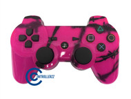Pink Barbed Wire PS3 Controller | Ps3