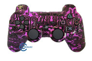 Pink Circuit Board PS3 Controller | Ps3