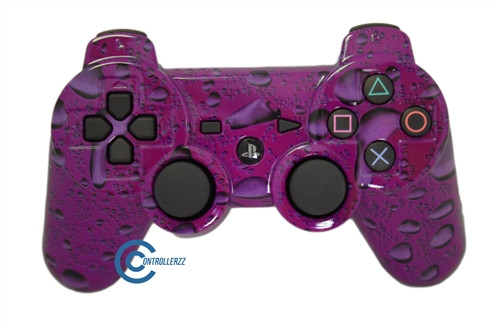 Pink Waterdrop PS3 Controller | Ps3