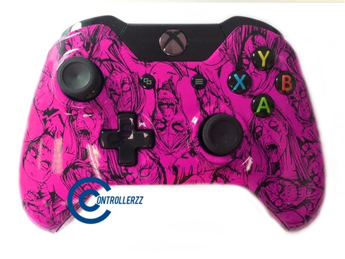 Pink Zombie Xbox One Controller | Xbox One
